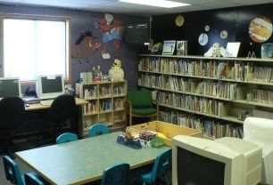 Childrens area at Havelock library